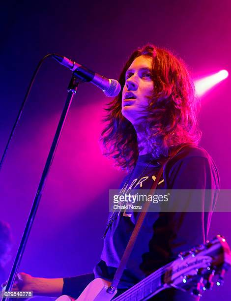 Tom Ogden of Blossoms performs at O2 Shepherd's Bush Empire on December 13 2016 in London England