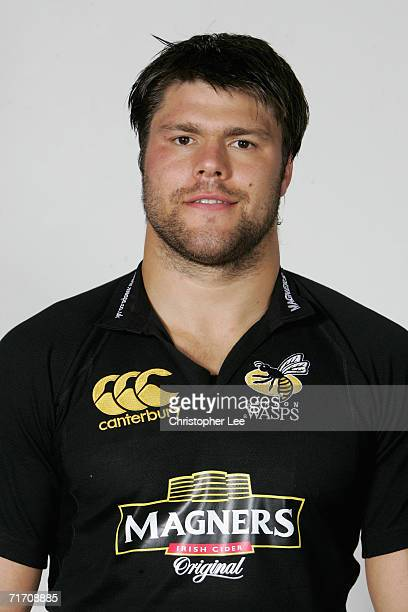 Tom Palmer of London Wasps poses for a portrait during the London Wasps pre season photo call for he 20067 Guinness Premiership season at the London...