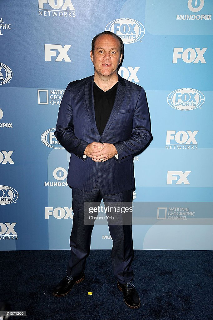 Tom Papa attends 2015 FOX Programming Presentation at Wollman Rink, Central Park on May 11, 2015 in New York City.