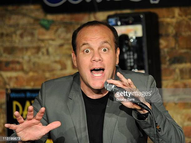 Tom Papa performs at The Stress Factory Comedy Club on April 26 2011 in New Brunswick New Jersey