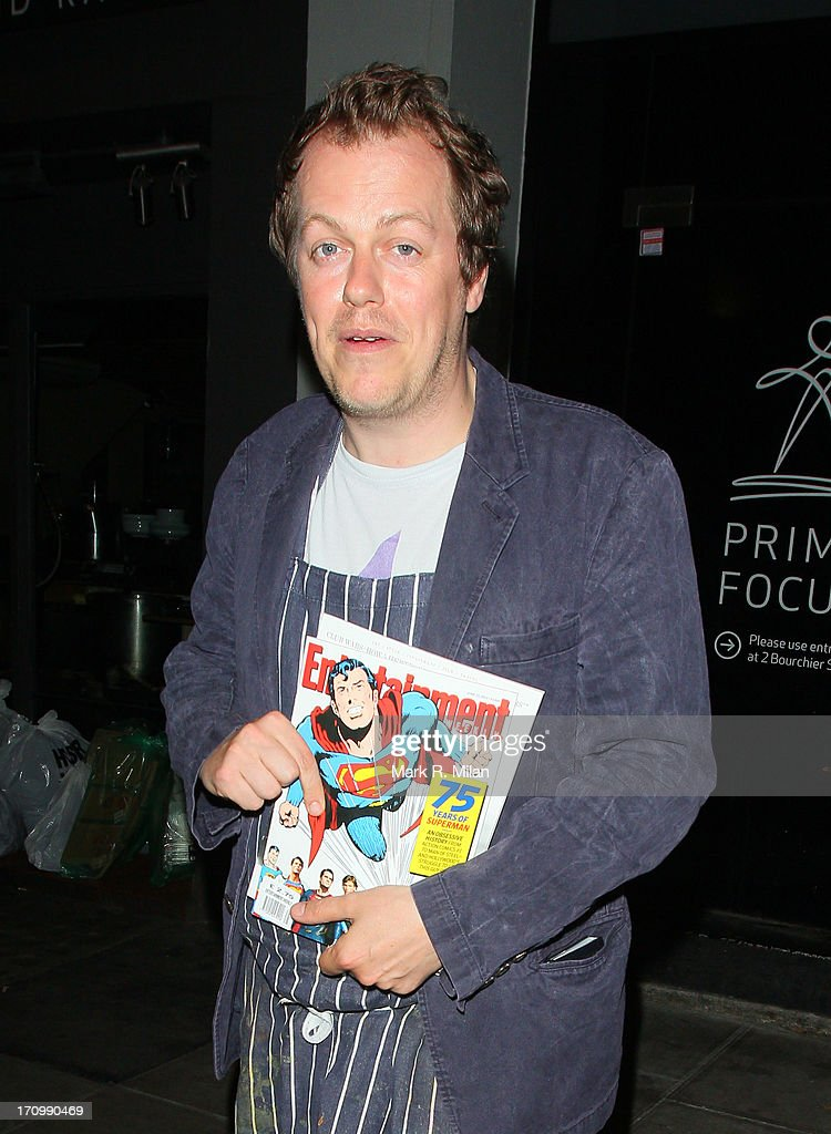 Tom Parker Bowles at the Groucho club on June 20, 2013 in London, England.