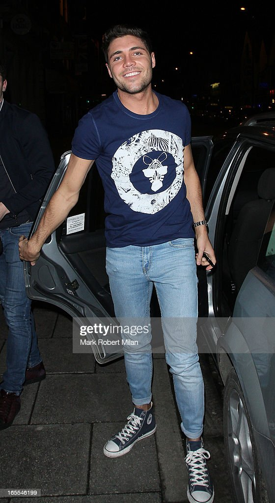 Tom Pearce at the Sugar Hut Brentwood on April 4, 2013 in London, England.