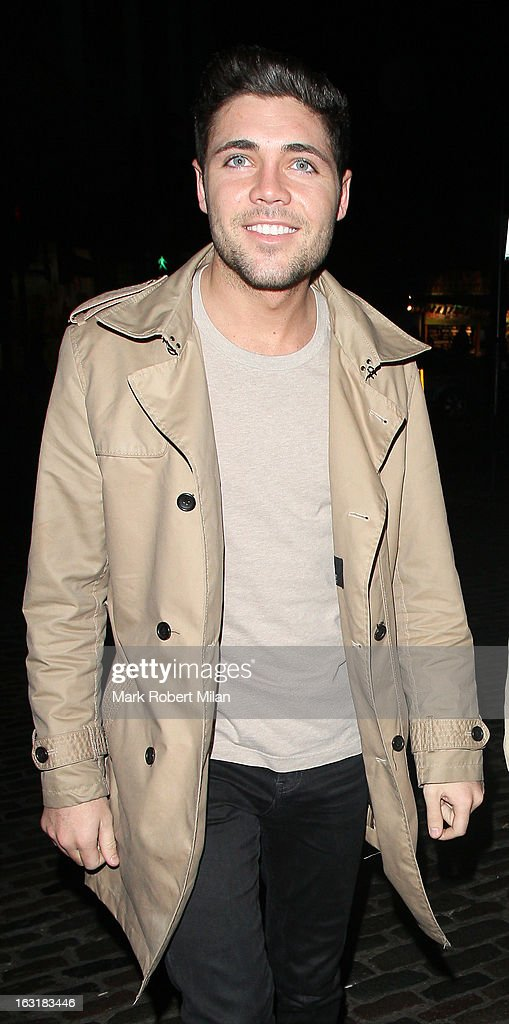 Tom Pearce attending the new! magazine 10th birthday party at Gilgamesh restaurant on March 5, 2013 in London, England.