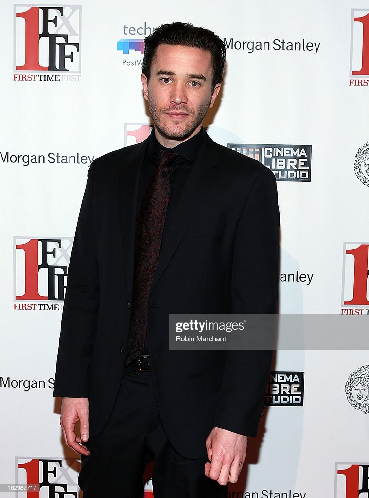 Tom Pelphrey attends 'Junction' during the 2013 First Time Fest at AMC Loews Village 7 on March 2, 2013 in New York City.