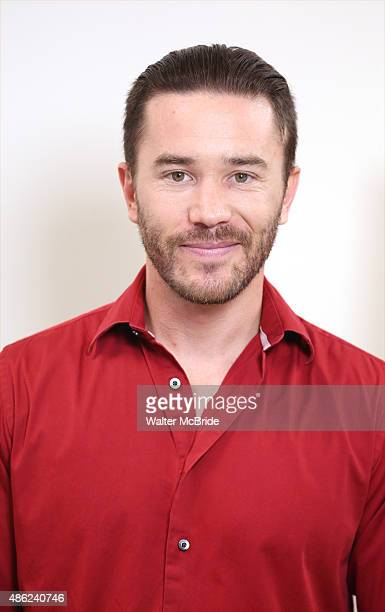 Tom Pelphrey attends the meet and Greet for the cast of 'Fool for Love' at the Manhattan Theatre Club rehearsal studios on September 2 2015 in New...