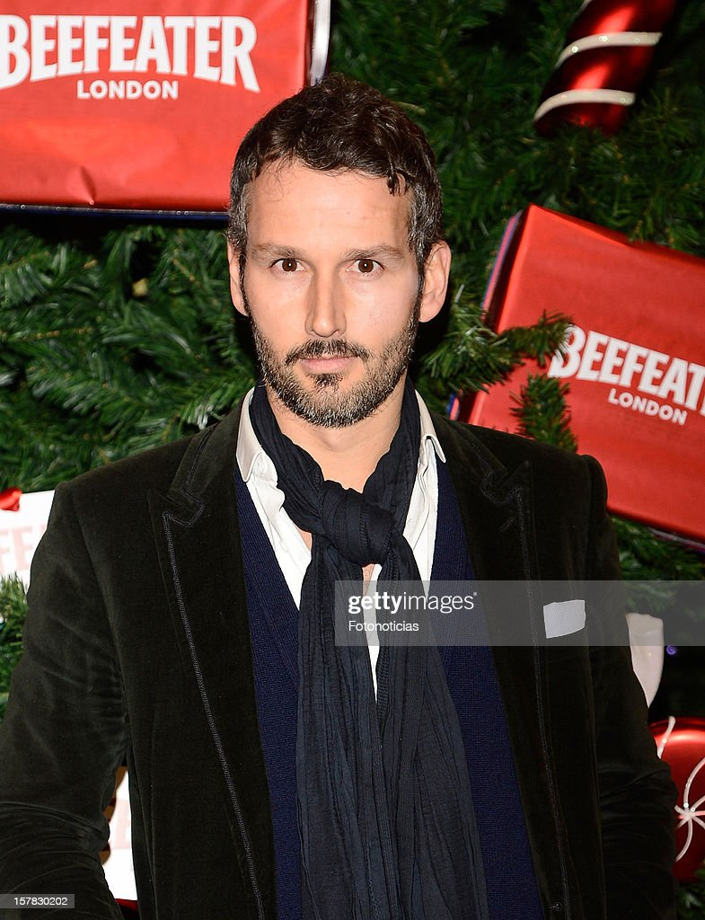 Tom Pernas attends the inauguration of Beefeater London Market at the Palacio de Cibeles on December 6, 2012 in Madrid, Spain.