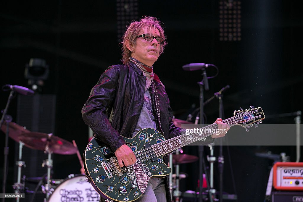 Tom Petersson of Cheap Trick performs during 2013 Rock On The Range at Columbus Crew Stadium on May 17, 2013 in Columbus, Ohio.