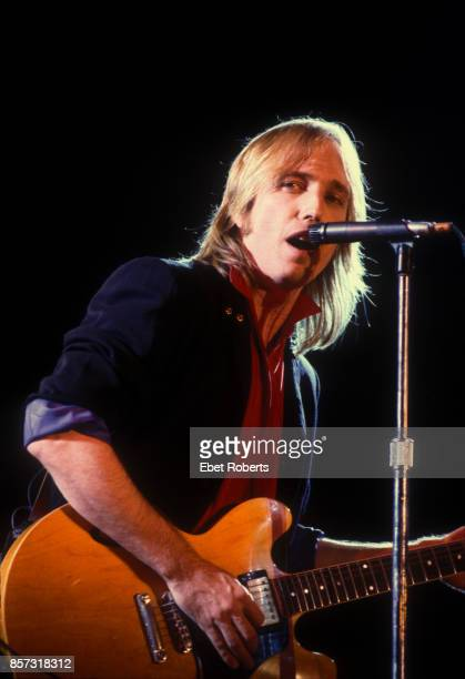 Tom Petty and The Heartbreakers at Farm Aid in ChampaignIllinois on September 22 1985