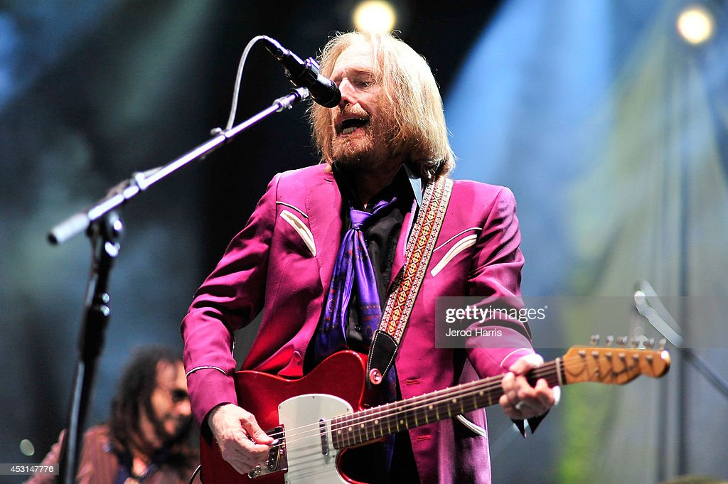 Tom Petty and The Heartbreakers kick off their summer 2014 tour in support of their latest album 'Hypnotic Eye' at Viejas Arena on August 3, 2014 in San Diego, California.
