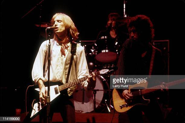 Tom Petty and the Heartbreakers performing at the Community Center in Sacramento California in July 251979