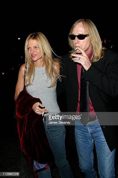 Tom Petty and wife Dana during 'SNL' Season Premiere AfterParty at Man Ray in New York City New York United States