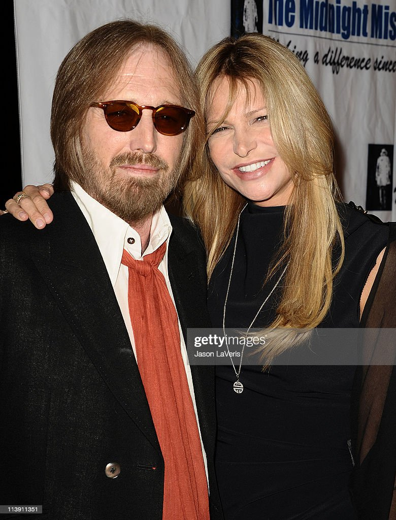 Tom Petty and wife Dana Petty attend the 11th annual Golden Heart Awards at The Beverly Hilton hotel on May 9, 2011 in Beverly Hills, California.