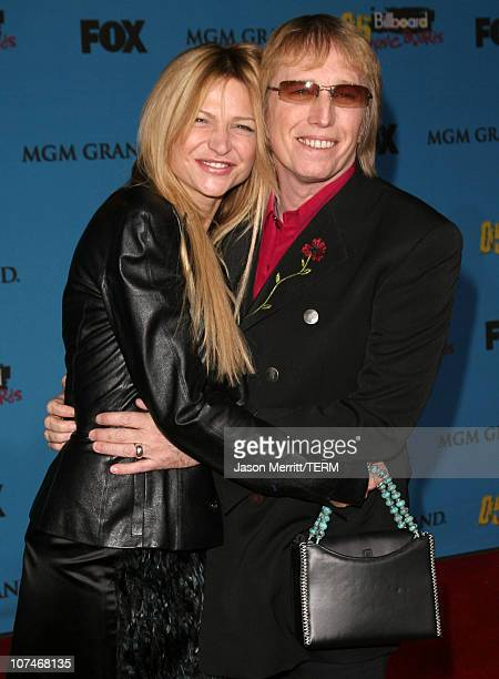 Tom Petty and wife Dana York during 2005 Billboard Music Awards Arrivals at MGM Grand in Las Vegas Nevada United States