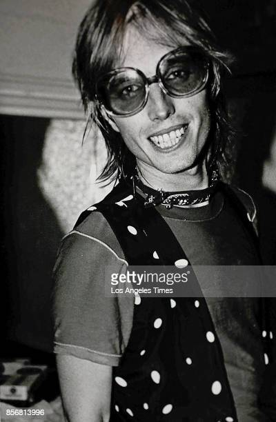 Tom Petty at his Santa Monica concert stop in July 1979