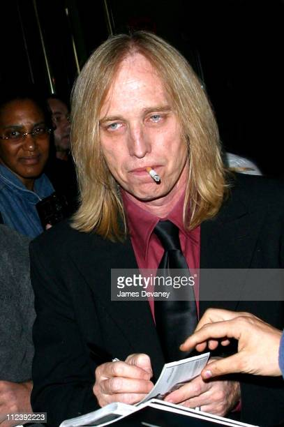 Tom Petty during 'SNL' Season Premiere AfterParty at Man Ray in New York City New York United States