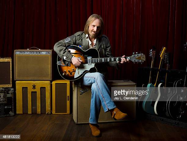 Tom Petty is photographed for Los Angeles Times on June 30 2014 in Malibu California PUBLISHED IMAGE CREDIT MUST READ Jay L Clendenin/Los Angeles...