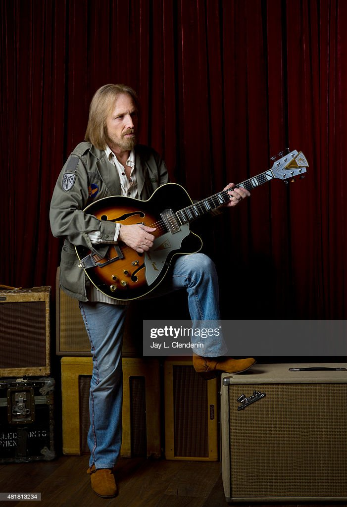 Tom Petty is photographed for Los Angeles Times on June 30, 2014 in Malibu, California. PUBLISHED IMAGE.