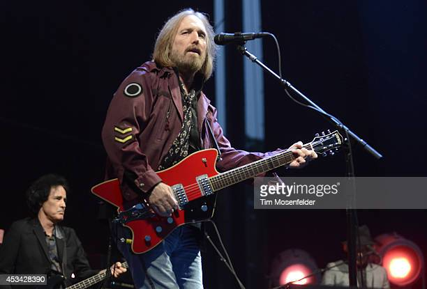 Tom Petty of Tom Petty the Heartbreakers performs during the Outside Lands Music Festival at Golden Gate Park on August 9 2014 in San Francisco...