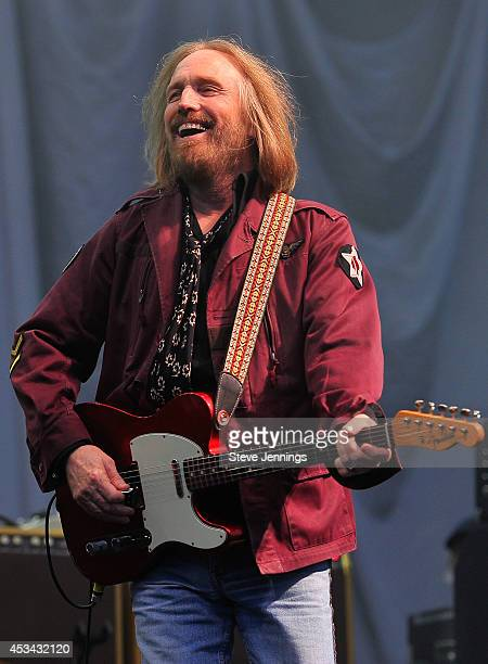 Tom Petty of Tom Petty The Heartbreakers performs on Day 2 of the 7th Annual Outside Lands Festival at Golden Gate Park on August 9 2014 in San...