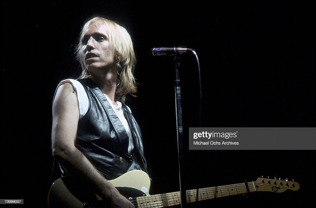 Tom Petty performs circa 1985 in Los Angeles, California.