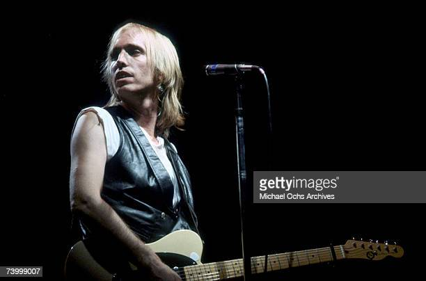 Tom Petty performs circa 1985 in Los Angeles California