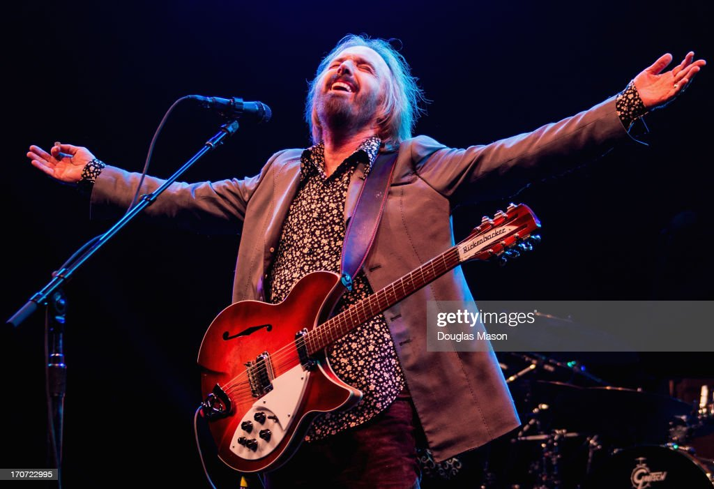 <a gi-track='captionPersonalityLinkClicked' href=/galleries/search?phrase=Tom+Petty&family=editorial&specificpeople=224789 ng-click='$event.stopPropagation()'>Tom Petty</a> performs during the 2013 Bonnaroo Music And Arts Festival on June 16, 2013 in Manchester, Tennessee.
