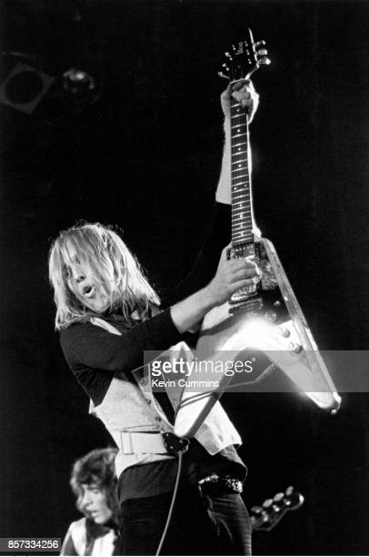 Tom Petty performs on stage with the Heartbreakers Manchester Apollo United Kingdom 19th May 1977