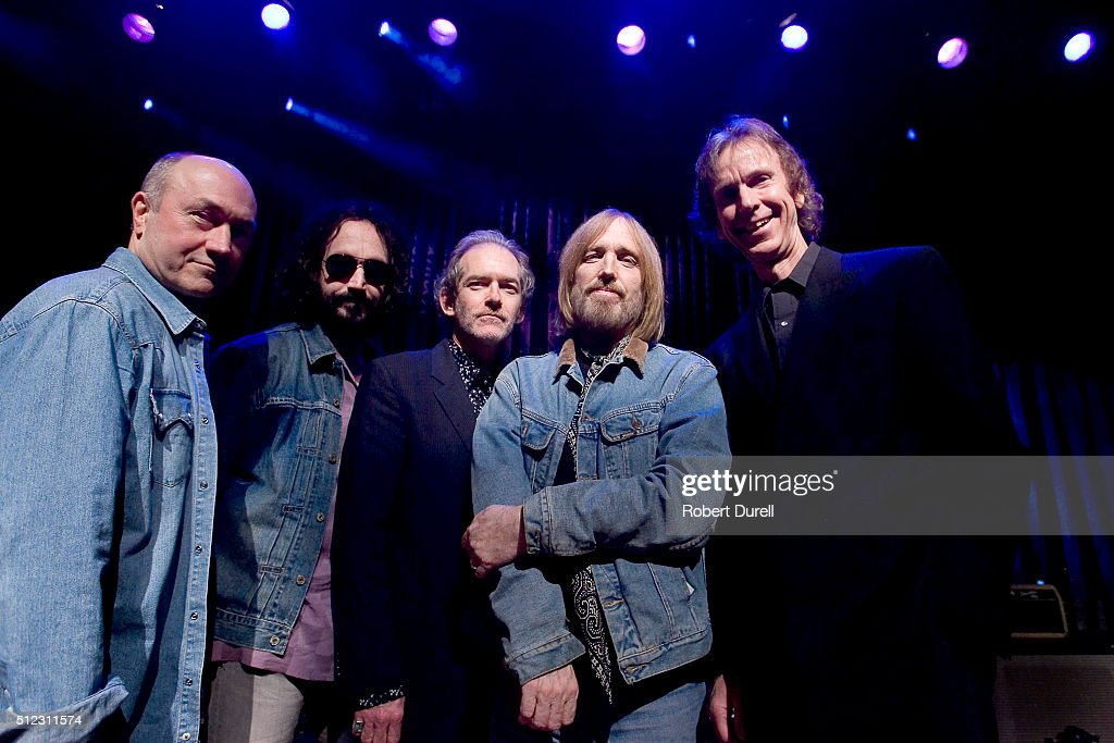 Tom Petty, Randall Marsh, Mike Campbell, Benmont Tench of 'Mudcrutch' are photographed for Los Angeles Times on April 16, 2008 in San Francisco, California.