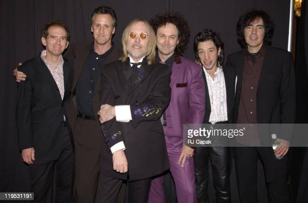 Tom Petty the Heartbreakers during The 17th Annual Rock and Roll Hall of Fame Induction Ceremony Backstage In Press Room at Waldorf Astoria Hotel in...