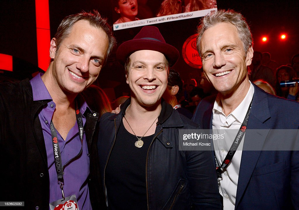Tom Poleman President National Programming Platforms for Clear Channel Radio musician Gavin Degraw and President Clear Channel Entertainment...