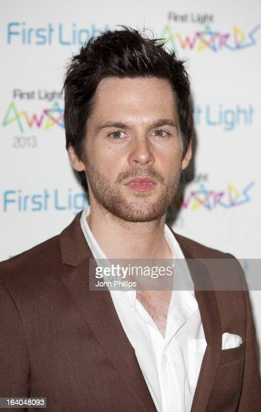 Tom Riley attends the First Light Awards at Odeon Leicester Square on March 19 2013 in London England