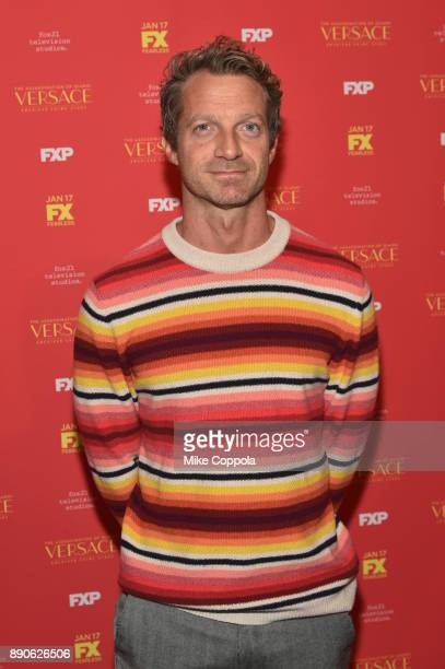 Tom Rob Smith attends 'The Assassination Of Gianni Versace American Crime Story' New York Screening at Metrograph on December 11 2017 in New York City