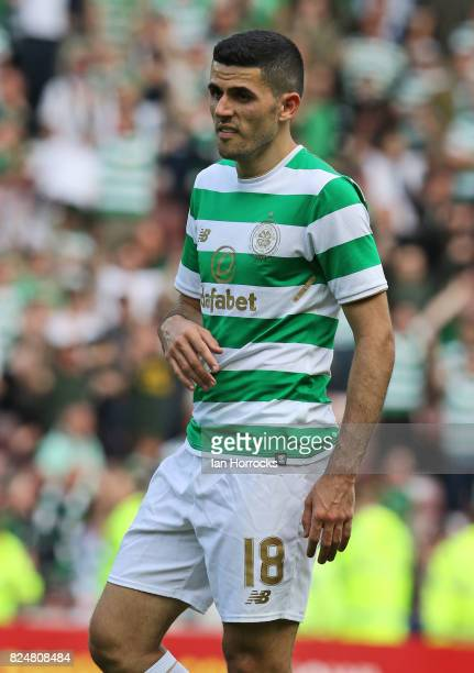 Tom Rogic of Celtic during a preseason friendly match between Sunderland AFC and Celtic at the Stadium of Light on July 29 2017 in Sunderland England