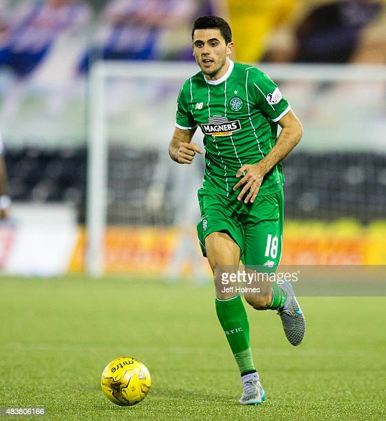 Tom Rogic of Celtic in action during the Scottish premiership match between Kilmarnock and Celtic at Rugby Park on August 12 2015 in Kilmarnock...