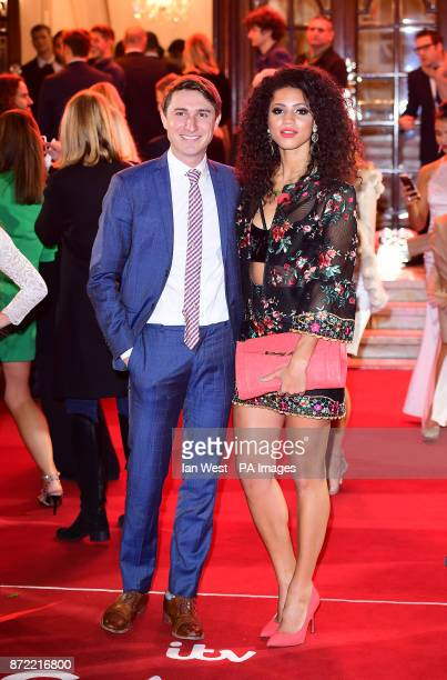 Tom Rosenthal and Vick Hope attending the ITV Gala held at the London Palladium Picture date Thursday November 9 2017 See PA story SHOWBIZ ITV Photo...