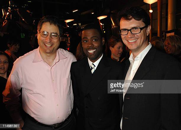 Tom Rothman Chairman of Fox Filmed Entertainment Chris Rock and Peter Rice President of Fox Searchlight Pictures
