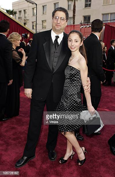 Tom Rothman of Fox and daughter Elizabeth during The 77th Annual Academy Awards Executive Arrivals at Kodak Theatre in Hollywood California United...