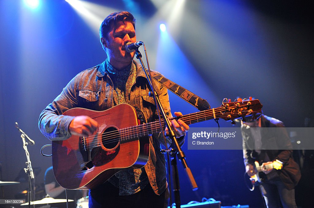Tom Rowlett of Dexters performs on stage at O2 Shepherd's Bush Empire on March 17, 2013 in London, England.