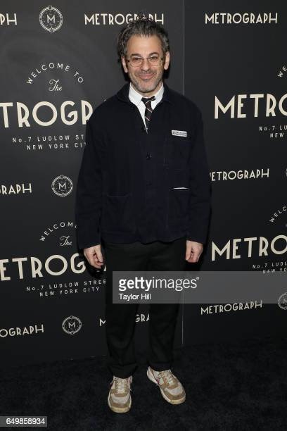 Tom Sachs attends the Metrograph 1st Year Anniversary Party at Metrograph on March 8 2017 in New York City
