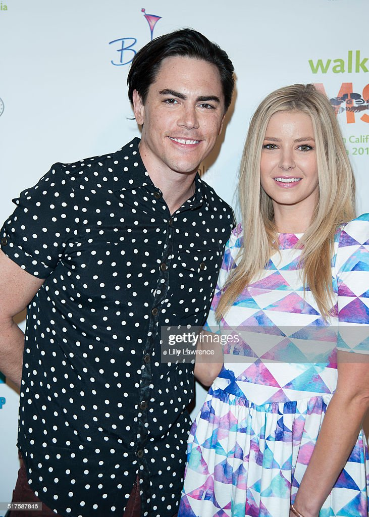 Tom Sandoval and Ariana Madix attend 3rd Annual LA's Walk MS Celebrity Kickoff Event at Bugatta Supper Club on March 25, 2016 in Los Angeles, California.