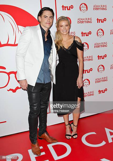 Tom Sandoval and Ariana Madix attend the screening and reception for truTV's 'Adam Ruins Everything' at The Library at The Redbury on August 18 2016...
