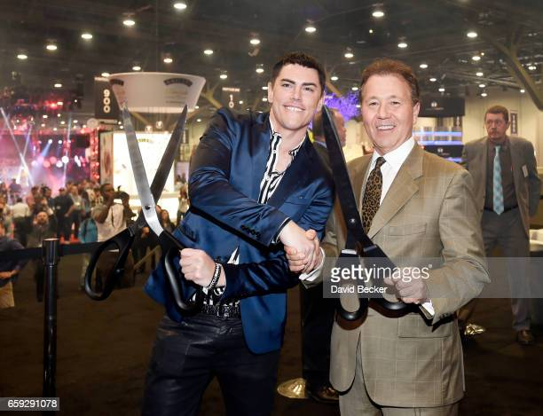 Tom Sandoval and Chairman of NBC Show Advisory Board Thom Greco cut the ribbon on day two of the 32nd annual Nightclub Bar Convention and Trade Show...