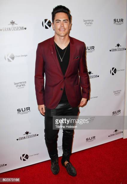 Tom Sandoval attends Kyle Chan's 3rd annual #LOVECAMPAIGN Party at SUR Lounge on June 27 2017 in Los Angeles California