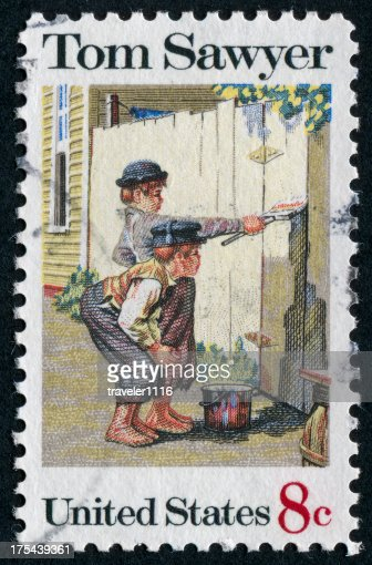 tom sawyer whitewashing the fence pdf