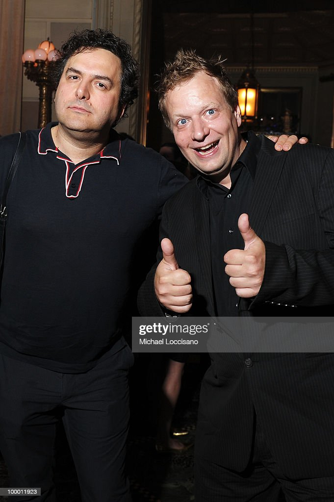 Tom Scharpling and Michael Kupperman attend the Adult Swim Upfront 2010 at Gotham Hall on May 19, 2010 in New York City. 19913_001_0097.JPG