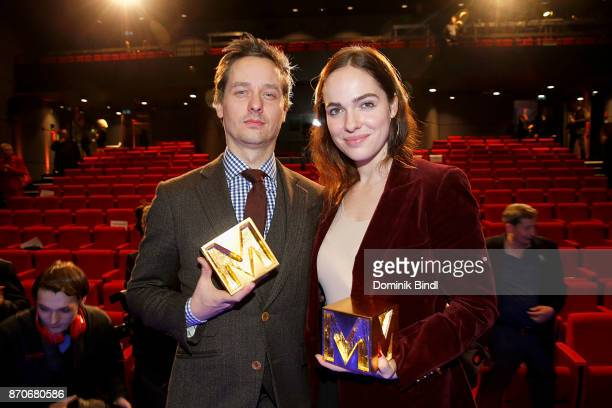 Tom Schilling and Verena Altenberger during the 7th German Director Award Metropolis at HFF Munich on November 5 2017 in Munich Germany