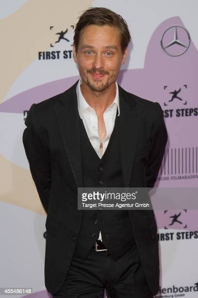 Tom Schilling attends the 'First Steps Award 2014' at Stage Theater on September 15 2014 in Berlin Germany