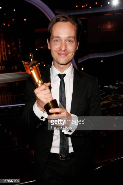 Tom Schilling attends the Lola German Film Award 2013 Party at FriedrichstadtPalast on April 26 2013 in Berlin Germany