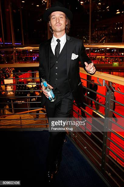 Tom Schilling attends the opening party of the 66th Berlinale International Film Festival Berlin at Berlinale Palace on February 11 2016 in Berlin...