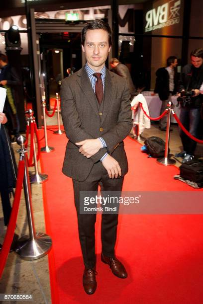 Tom Schilling during the 7th German Director Award Metropolis at HFF Munich on November 5 2017 in Munich Germany